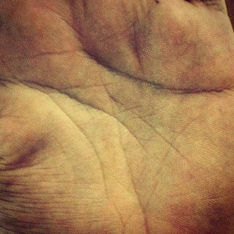 palma da mão tiago
